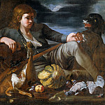 Giovanni Francesco da Rimini - Hunter (Attr)