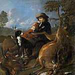 Niccolo (Niccolo da Foligno) Alunno - The Hunter