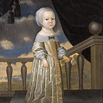 Pierre Parrocel - Kristina Sabina (1643-1644), Princess of Holstein-Gottorp [Attributed]