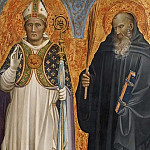 Edvard Perséus - St. Benedict and Bishop Donatus