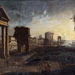 Scarsellino (Ippolito Scarsella) - Harbour with Capriccio