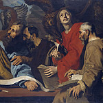 Lorens Pasch the Younger - The Four Evangelists