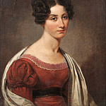 Giovanni Francesco Romanelli - Margaret Seton (1805-1870), born in Scotland, active in Sweden, gm friherre Colonel Carl Gustaf Adlercreutz, granddaughter of Alexander Baron Seton