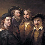 Salvator Rosa - Five artists