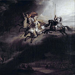 Gerard Seghers - Valkyries Riding into Battle