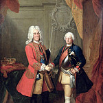 Augustus II , Elector of Saxony and King of Poland with King Friedrich Wilhelm I