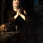 Portrait of Maria Maddalena of Austria as Saint Mary Magdalene