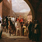 Carl Steffeck - Entering of the knights in the Marienburg