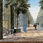Aert Schouman - Schouman Aert View of iron gate Sun