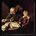 Carl Blechen - The Music Lesson