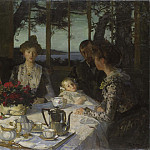 Hugo Federick Salmson - Talking in the Twilight