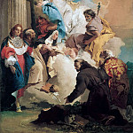 The Virgin with Six Saints, Giovanni Battista Tiepolo