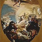 Apollo and Phaethon, Giovanni Battista Tiepolo