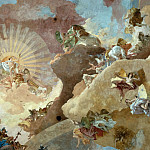 Giovanni Battista Tiepolo - Apollo and the Continents, detail