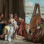 Alexander the Great and Campaspe in the Studio of Apelles, Giovanni Battista Tiepolo