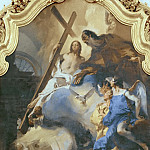 Pope St Clement Adoring the Trinity, Giovanni Battista Tiepolo