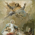 Giovanni Battista Tiepolo - The Immaculate
