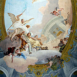 Allegory of Merit Accompanied by Nobility and Virtue, Giovanni Battista Tiepolo