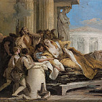 Death of Dido, Giovanni Battista Tiepolo