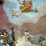 Apollo and the Continents, detail – Europe, Giovanni Battista Tiepolo