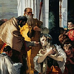 Giovanni Battista Tiepolo - The communion of St. Lucy
