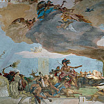 Giovanni Battista Tiepolo - Apollo and the Continents, detail - America