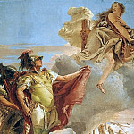 Venus Appearing to Aeneas on the Shores of Carthage, Giovanni Battista Tiepolo