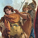 Giovanni Battista Tiepolo - Rinaldo turning in Shame from the Magic Shield