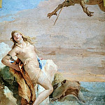 Giovanni Battista Tiepolo - Orlando Rescues Angelica from a Monster
