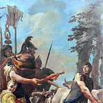 Dictatorship Offered to Cincinnatus, Giovanni Battista Tiepolo