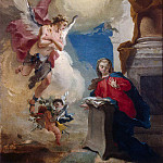 Annunciation, Giovanni Battista Tiepolo