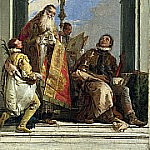 Saints Maximus and Oswald, Giovanni Battista Tiepolo