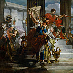 Scipio Africanus Freeing Massiva, Giovanni Battista Tiepolo