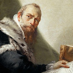 Antonio Riccobono, Professor of Eloquence at the University of Padua, Giovanni Battista Tiepolo