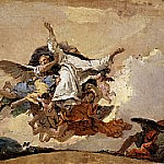 Sketch for «The Glory of Saint Dominic», Giovanni Battista Tiepolo