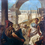 Quintus Fabius Maximus Before the Senate of Carthage, Giovanni Battista Tiepolo
