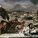 Intercession of St. Thecla during the plague in Veneto 1630 , Giovanni Battista Tiepolo