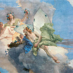 Giovanni Battista Tiepolo - Allegory of spring (Flora and Sephir), detail