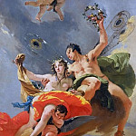 Triumph of Zephyr and Flora, Giovanni Battista Tiepolo