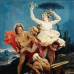 Apollo and Daphne, Giovanni Battista Tiepolo