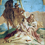 Giovanni Battista Tiepolo - Angelica Nurses Medoro's Wounds