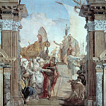Giovanni Battista Tiepolo - The Meeting of Antony and Cleopatra
