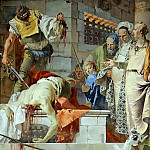The beheading of John the Baptist, Giovanni Battista Tiepolo