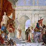 Giovanni Battista Tiepolo - The Continence of Scipio