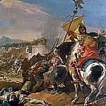 The Capture of Carthage, Giovanni Battista Tiepolo