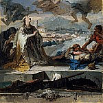 Giovanni Battista Tiepolo - Saint Thecla Praying for the Plague-Stricken
