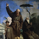 Saints Fidelis of Sigmaringen and Joseph of Leonessa trample on heresy, Giovanni Battista Tiepolo