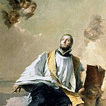 St. Kajetan of Tiene in the glory, Giovanni Battista Tiepolo