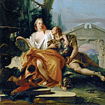 Rinaldo and Armida, Giovanni Battista Tiepolo