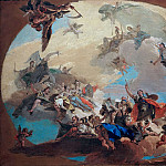 Giovanni Battista Tiepolo - The Triumph of the Arts